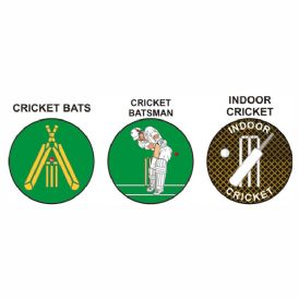 Cricket pk of 5 25mm centres-